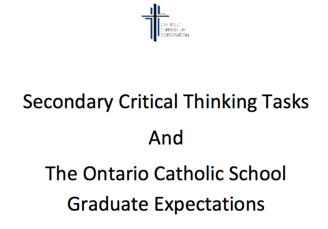 Critical thinking tasks for students