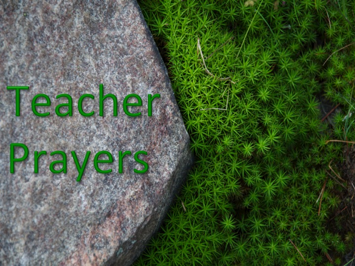 Teacher Prayers