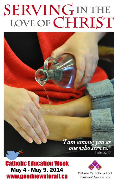 Catholic Education Week Poster 2014